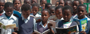 Silk Touch Books For Africa