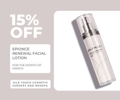 15% off Renewal Facial Lotion